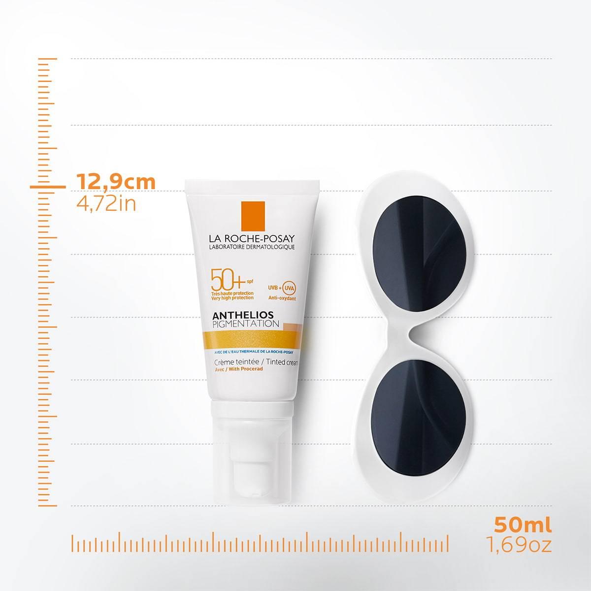 La Roche Posay ProduktSide Sol Anthelios Pigmentation Tinted Cream Spf