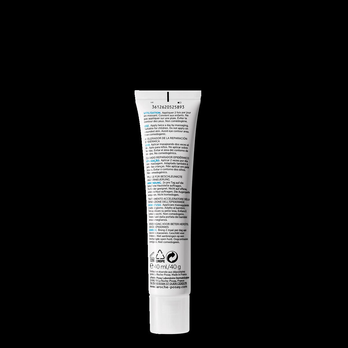 La Roche Posay ProduktSide Skadet Cicaplast Gel B5 Pro Recovery 40ml