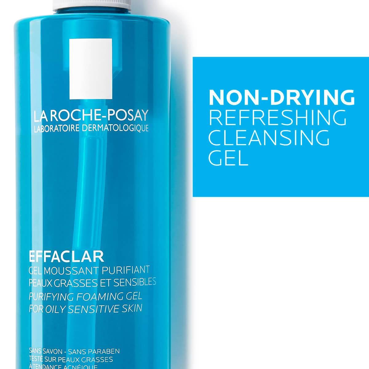La Roche Posay ProduktSide Akne Effaclar Cleansing Foaming Gel 400ml 3
