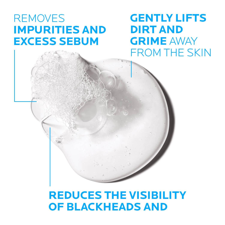 Larocheposay ProduktSide Akne Effaclar Cleansing Foaming gel Texture