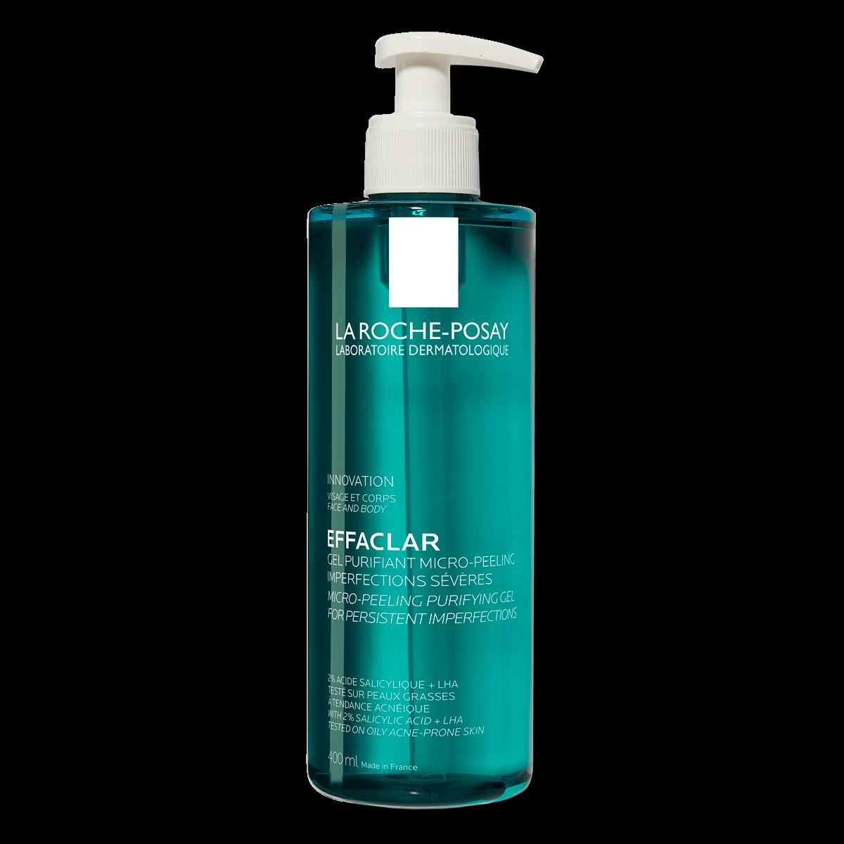 Effaclar Micro Peeling Purifying Gel 400ml 2% Salisylsyre Fet hud FSS