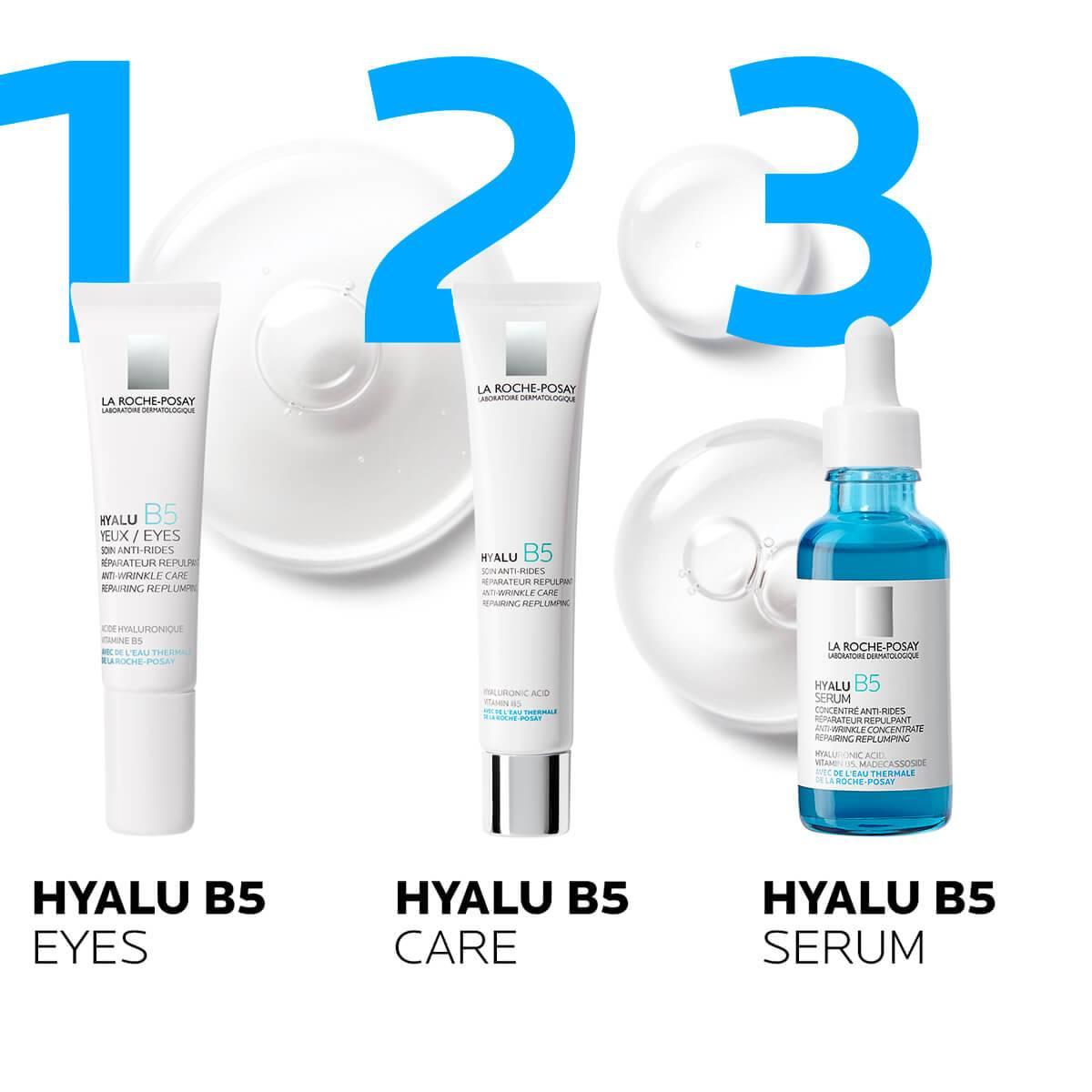 La Roche Posay ProduktSide Anti Aging Hyalu B5 Serum 30ml 333787558362 rutine