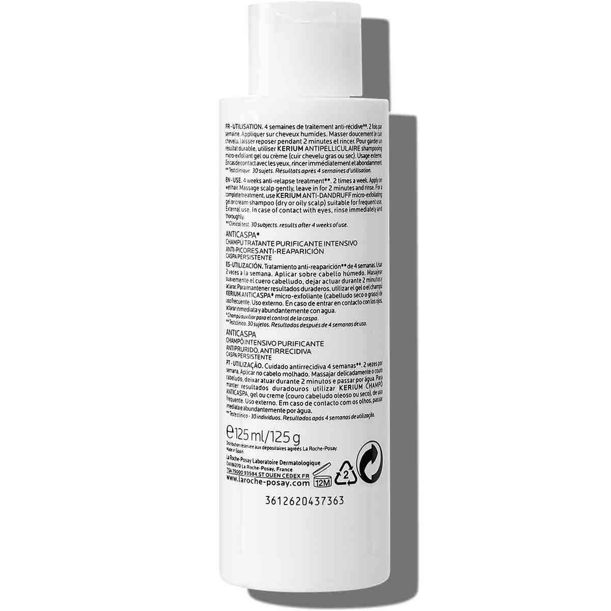 La Roche Posay ProduktSide Kerium DS Anti Dandruff Treatment Shampoo 12