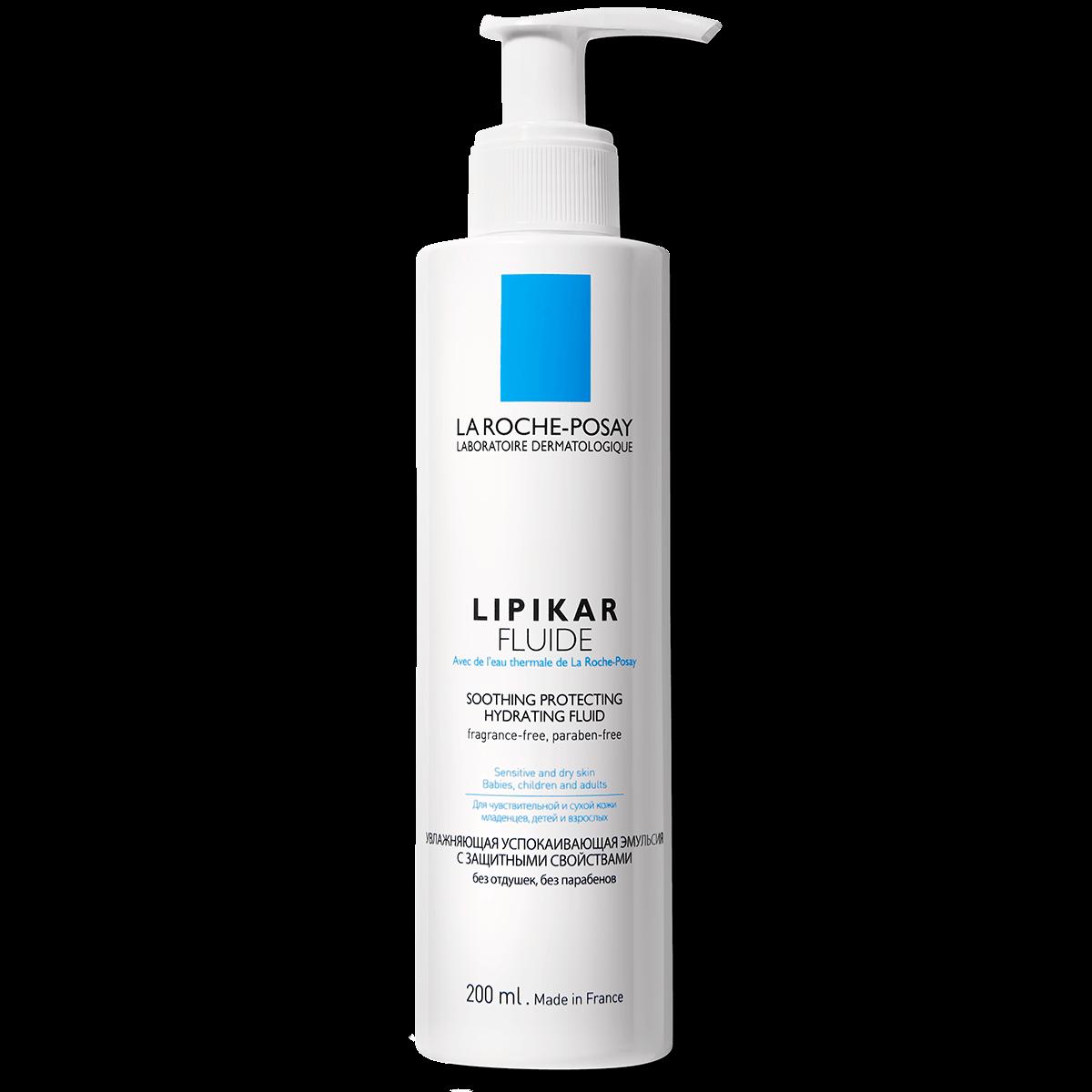 La Roche Posay ProduktSide Eksem Lipikar Fluide 200ml 3337872420603 F