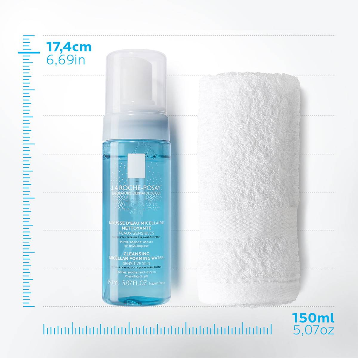 La Roche Posay ProduktSide Ansiktsrens Physiological Foaming Water 1