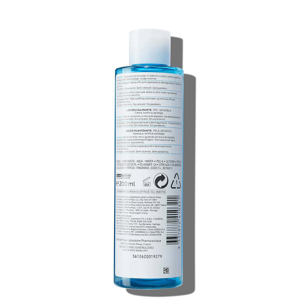 La Roche Posay ProduktSide Ansiktsrens Physiological Soothing Lotion