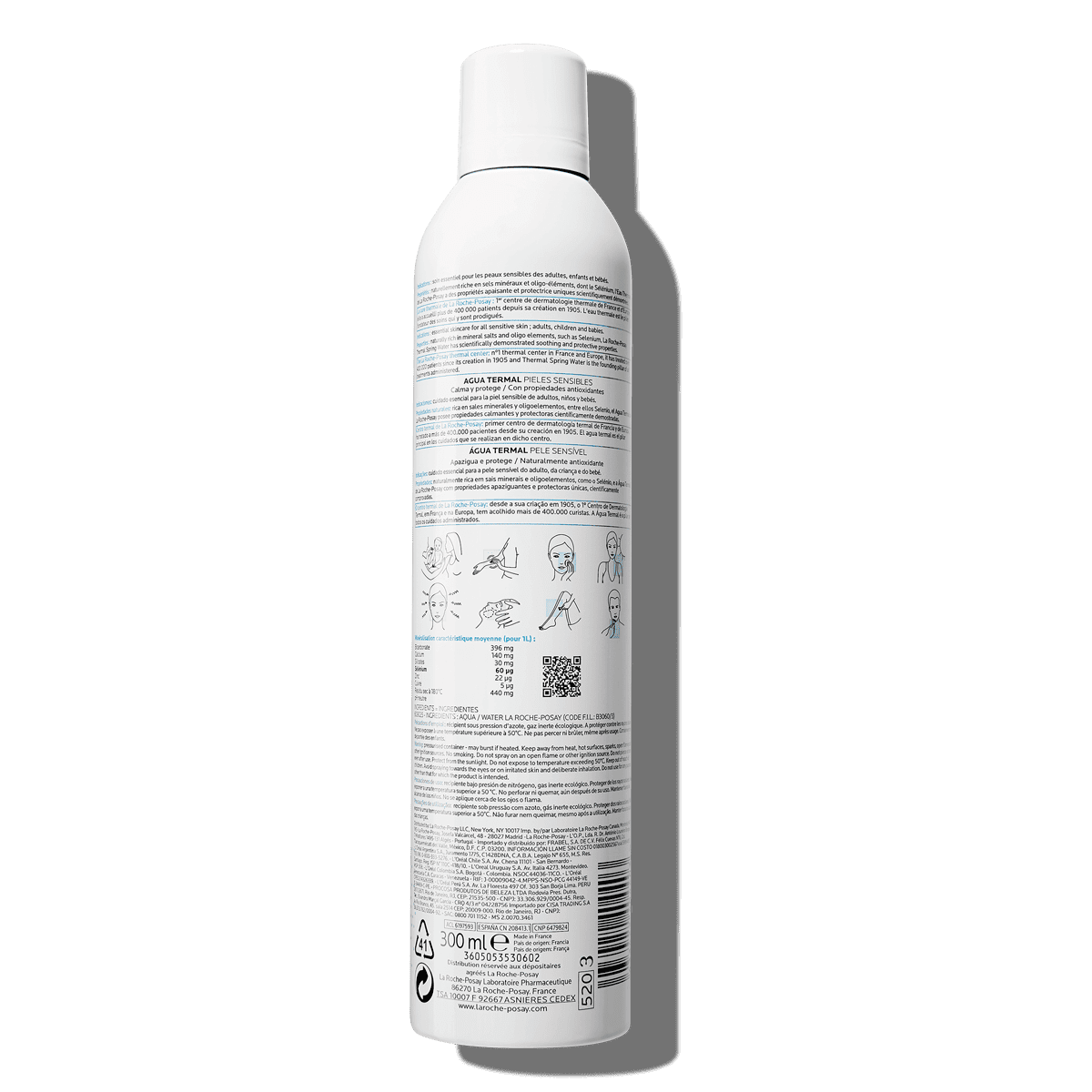 La Roche Posay ProduktSide Termalsk kildevann 300ml 3433422404403 Ba