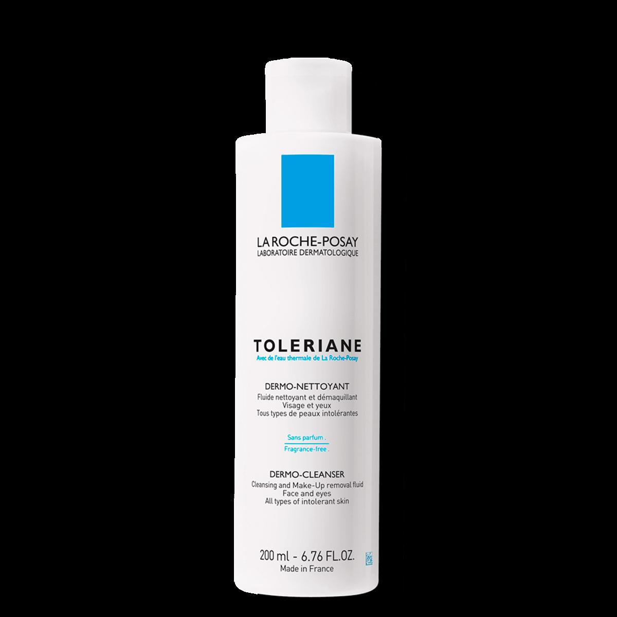 La Roche Posay ProduktSide Sensitiv Tendens til allergi Toleriane Dermo Cleanser
