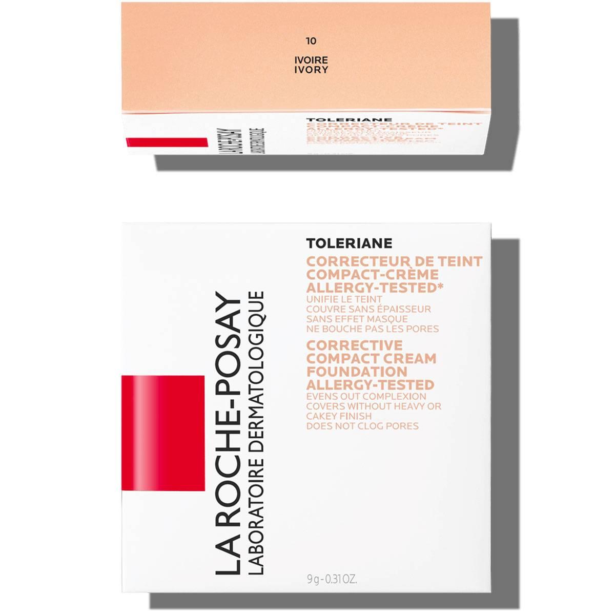 La Roche Posay Sensitiv Toleriane Sminke COMPACT CREAM 10 Elfenben 33378