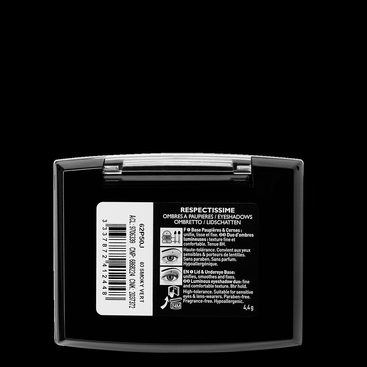 La Roche Posay Sensitiv Toleriane Sminke EYE SHADOW DuoSmokyGrønn 333