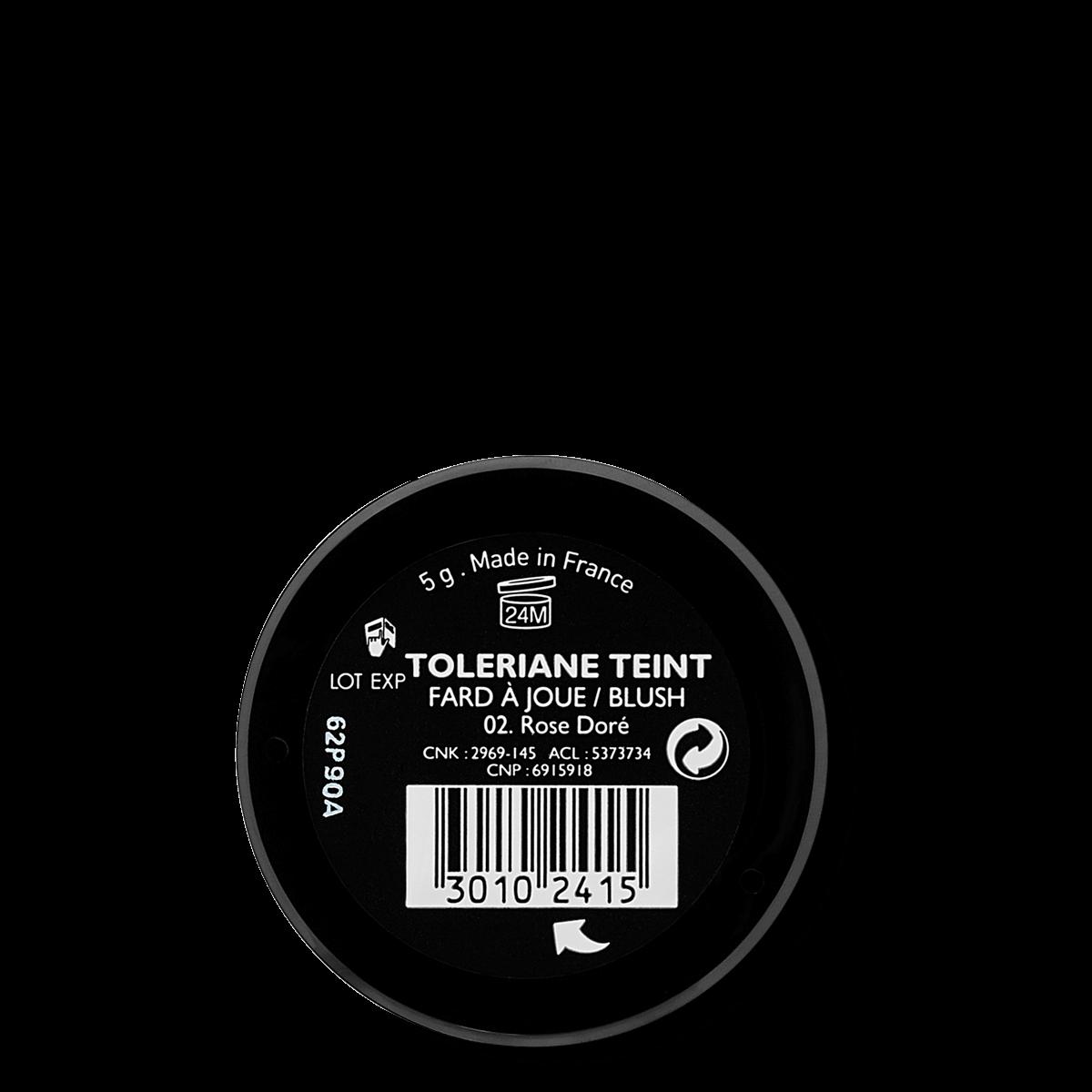 La Roche Posay Sensitiv Toleriane Sminke BLUSH GoldenPink 30102415 B