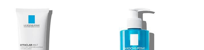 La Roche Posay akne effaclar serie side bunn