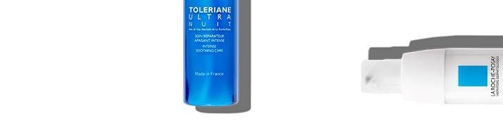 La Roche Posay sensitiv hud toleriane serie side topp